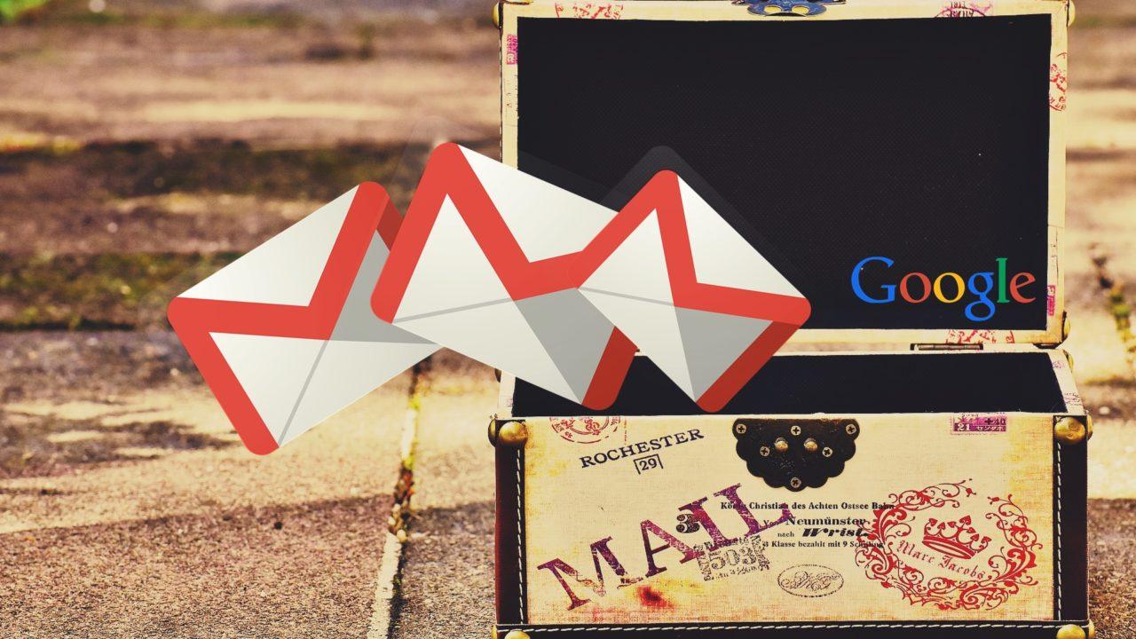 作成 gmail 複数